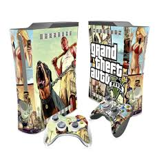 Grand Theft Auto V Gta 5 Skin Sticker Decal For Xbox 360 Console And Controllers Skins Stickers For Xbox360 Vinyl Stickers Aliexpress