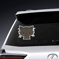 Cartoon Grumpy Cat Sticker