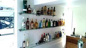 amusing liquor glass shelves furniture