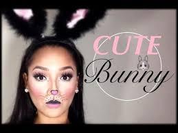 cute simple bunny makeup