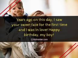 best birthday quotes wishes for son from mother child insider