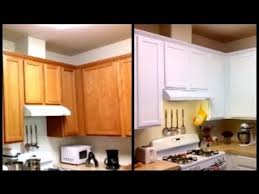 paint cabinets white for less than 120