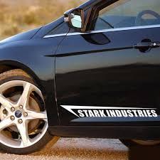 Aliauto Shield Stark Industries Car Styling Car Side Door Stickers Decal For Chevrolet Cruze Volkswagen Honda Hyundai Kia Lada Styling Car Car Stylingsticker Car Decal Aliexpress
