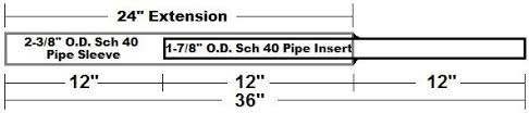 American Fence Supply Co 2 3 8 Slip Sleeve