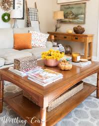 how to style your coffee table for any