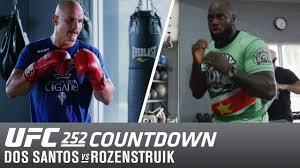 ufc 252 countdown junior dos santos vs