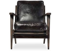 caleb leather accent chair