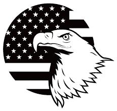 American Flag American Eagle Vinyl Decal Sticker Art Design Murals For Modern Interior Or Exterior American Flag Images Art Design Flag Background