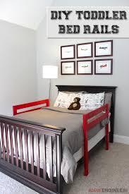 Diy Toddler Bed Rail Free Plans Built For Under 15 Diy Toddler Bed Bed Rails For Toddlers Toddler Boys Room