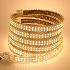 LED SMD 5730 Dây AC 110V 220V 240 Đèn LED/M Đèn LED Dây Đèn LED Siêu Sáng  Ruy Băng băng Keo Có Dimmer Từ Xa EU/Anh/Mỹ/AU Plug 