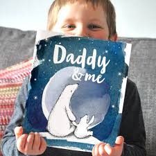 personalised daddy and me book by
