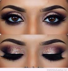 makeup looks for brown eyes prom makeup