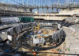 SoFi Stadium construction in Los ...