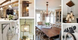 36 best farmhouse lighting ideas and