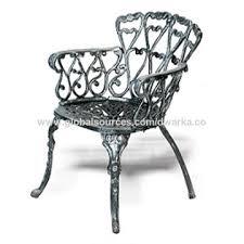 flora cast iron chair from jodhpur