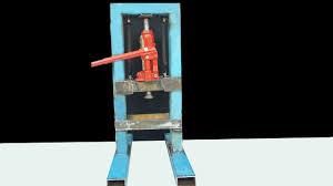 wow diy mini hydraulic press you