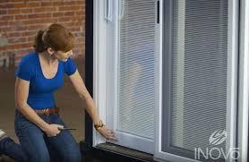 gap between your patio door and frame
