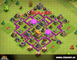 Town Hall 6 - HYBRID Base Map #1 ...