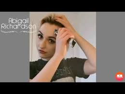 Abigail Richardson shaves her head to raise money for the NHS - YouTube