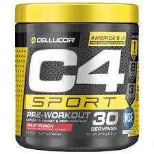 cellucor c4 sport pre workout powder