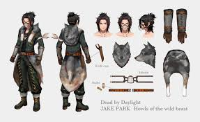 Howls of the wild beast【Jake Park】 by:Yabuta — Dead By Daylight