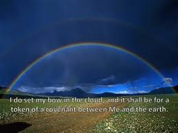 bible verses about rainbow