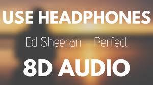 Ed Sheeran - Perfect (8D AUDIO) - YouTube