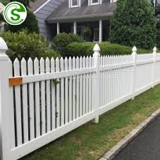 Pvc Fence Buy Garden Fence Pvc Plastic White Fence Vinyl Pvc White Picket Fence On China Suppliers Mobile 159498333