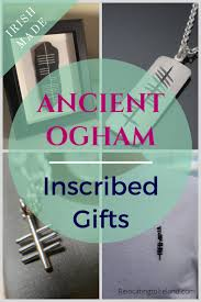 irish made ogham inscribed gifts