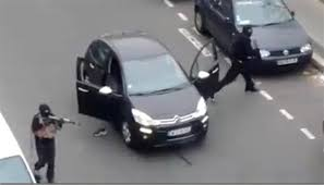 charlie hebdo shooting 12 killed at
