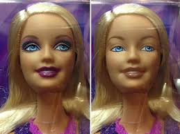 how to take makeup off barbie dolls