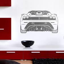 Wall Decal Ferrari F430 Rear Muraldecal Com