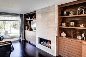 fireplace tile wall