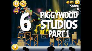 Angry Birds Seasons Piggywood Studios, Part 1! Level 1-6 ...