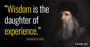 leonardo da vinci quotes on becoming a knowledge enthusiast