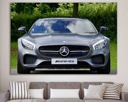 Mercedes Wall Decal Etsy