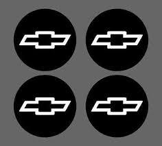 Chevy Bowtie Center Cap Rim Wheel Overlay Vinyl Decals 350 305 454 On Popscreen