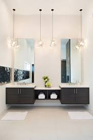 elegant pendant lighting bathroom