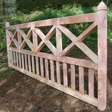Single Cross Brace Gate Wooden Gates Timber Gates Gate