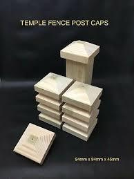 4 X 4 Metal Pyramid Galvanised Fence Post Caps 20 X 100mm X 100mm Posts