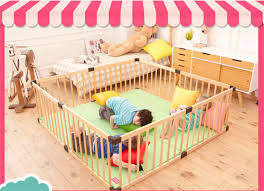 Baby Play Fence Crawling Fence Baby Safety Toddler Bar Children Fence Solid Wood Children S Play Fence Multi Special Optional Baby Playpens Aliexpress