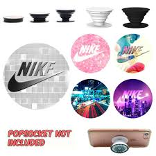 Nike Popsocket Decal Sticker Phone Grip And Holder Decal Sticker Cell Phone Stand Decal And Sticker Pop Socket N Popsockets Phone Grips Cell Phone Stand