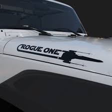 Rogue One X Wing Decal Set Star Wars Stickers Nerdecal