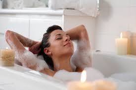 Image result for woman in bathtub