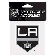 Hockey Nhl Los Angeles La Kings White Vinyl Die Cut Decal 8 X8 Perfect For Windows Sports Mem Cards Fan Shop Cub Co Jp