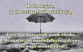kata hujan r tis nusagates
