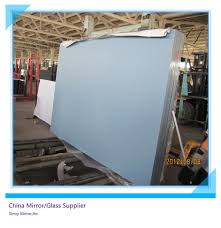 coated glass sheet silver mirror