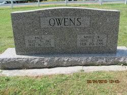 Ellen Marie Watson Owens (1916-1995) - Find A Grave Memorial