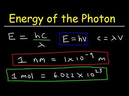 how to calculate the energy of a photon