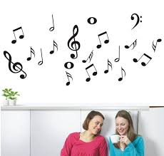 Wall Sticker Music Symbols Explosion Models Of Large Hot Wall Export Wall Stickers For Home Deco Vinyl Wish
